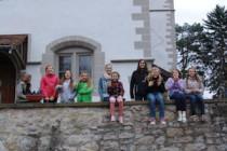 große Mädchen Jungschar der evangelischen Kirche Erdmannhausen